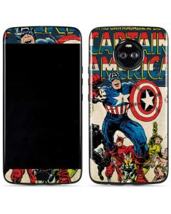 Captain America Big Premier Issue Moto X4 Skin