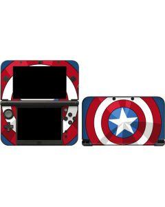 Captain America Emblem 3DS XL 2015 Skin