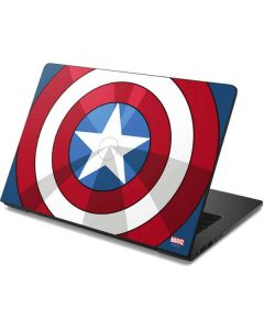 Captain America Emblem Dell Chromebook Skin