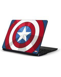 Captain America Emblem Samsung Chromebook Skin