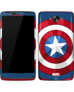 Captain America Emblem Motorola Droid Skin