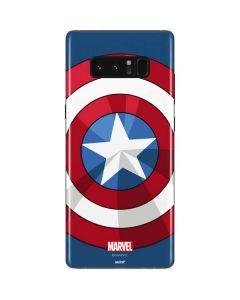 Captain America Emblem Galaxy Note 8 Skin
