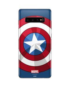 Captain America Emblem Galaxy S10 Plus Skin