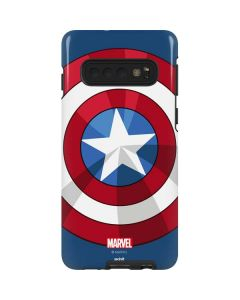 Captain America Emblem Galaxy S10 Pro Case