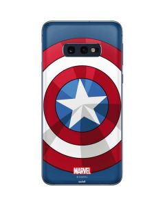 Captain America Emblem Galaxy S10e Skin