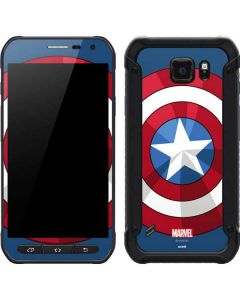 Captain America Emblem Galaxy S6 Active Skin