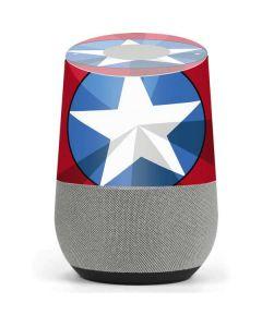 Captain America Emblem Google Home Skin