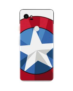 Captain America Emblem Google Pixel 2 XL Skin