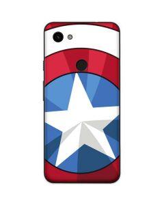 Captain America Emblem Google Pixel 3a Skin