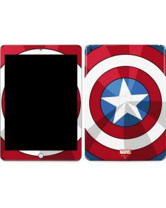 Captain America Emblem Apple iPad Skin