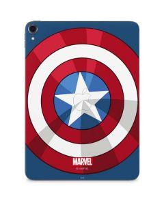 Captain America Emblem Apple iPad Pro Skin