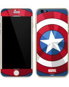 Captain America Emblem iPhone 6/6s Skin
