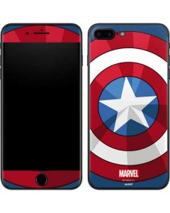 Captain America Emblem iPhone 8 Plus Skin