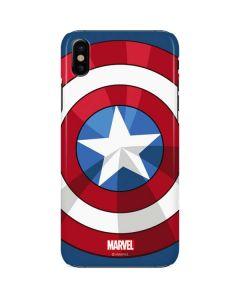 Captain America Emblem iPhone X Lite Case