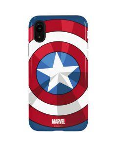 Captain America Emblem iPhone XR Pro Case
