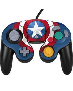 Captain America Emblem Nintendo GameCube Controller Skin