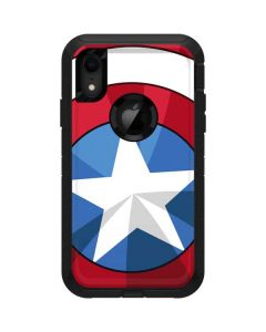 Captain America Emblem Otterbox Defender iPhone Skin