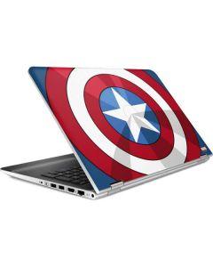 Captain America Emblem HP Pavilion Skin