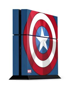 Captain America Emblem PS4 Console Skin