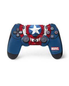 Captain America Emblem PS4 Controller Skin