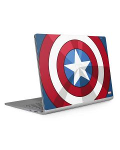 Captain America Emblem Surface Book 2 15in Skin