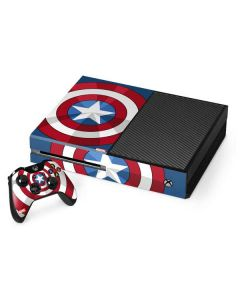 Captain America Emblem Xbox One Console and Controller Bundle Skin