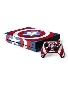 Captain America Emblem Xbox One X Bundle Skin