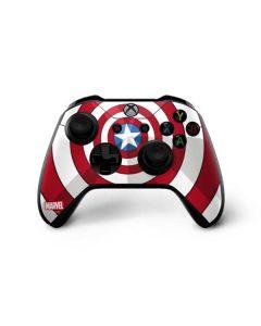 Captain America Emblem Xbox One X Controller Skin
