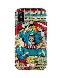 Captain America Revival iPhone X Pro Case