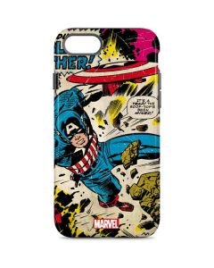 Captain America Rooftop Explosion iPhone 7 Pro Case