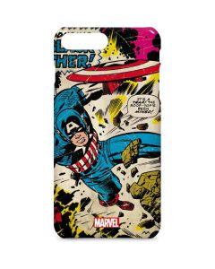 Captain America Rooftop Explosion iPhone 8 Plus Lite Case