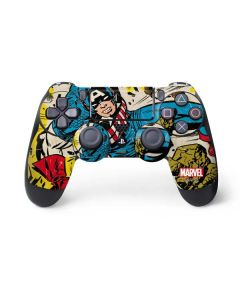 Captain America Rooftop Explosion PS4 Controller Skin