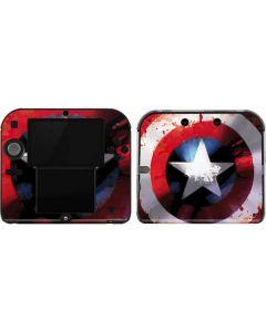 Captain America Shield 2DS Skin