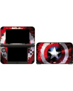 Captain America Shield 3DS XL 2015 Skin