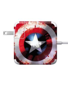 Captain America Shield Apple Charger Skin