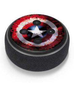 Captain America Shield Amazon Echo Dot Skin