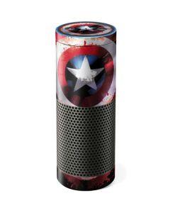 Captain America Shield Amazon Echo Skin
