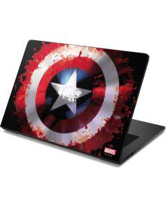 Captain America Shield Dell Chromebook Skin