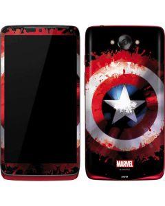 Captain America Shield Motorola Droid Skin