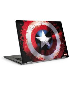Captain America Shield HP Elitebook Skin