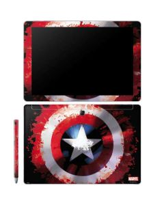 Captain America Shield Galaxy Book 12in Skin