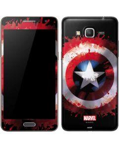 Captain America Shield Galaxy Grand Prime Skin