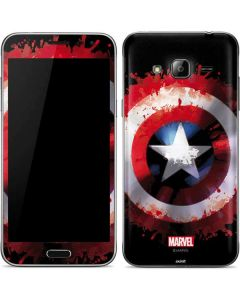 Captain America Shield Galaxy J3 Skin