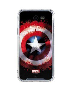 Captain America Shield Galaxy J7 (2017) Clear Case