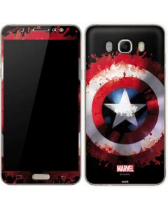 Captain America Shield Galaxy J7 Skin