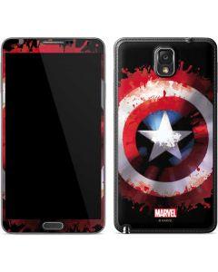 Captain America Shield Galaxy Note 3 Skin