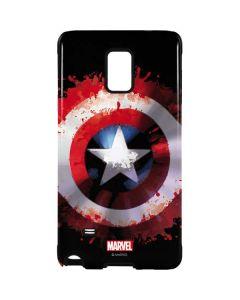 Captain America Shield Galaxy Note 4 Pro Case
