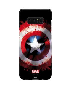Captain America Shield Galaxy Note 8 Lite Case