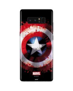 Captain America Shield Galaxy Note 8 Skin