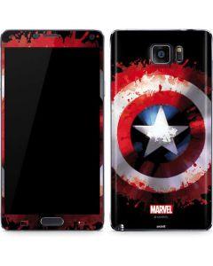 Captain America Shield Galaxy Note5 Skin